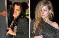 Avril Lavigne y Lindsay Lohan la lían en un restaurante