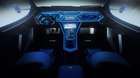 Alieno Arcanum: el supercoche eléctrico de los 5.000 CV reaparece con un interior digno de una nave espacial