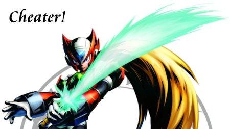 'Marvel vs. Capcom 3'. Zero se aprovecha de un glitch para fastidiar cualquier combate