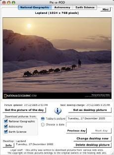 Pic-a-POD: Actualiza automáticamente tu fondo desde 4 webs distintas
