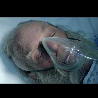 Papá Noel enfermo grave de Covid, el polémico anuncio criticado por herir la sensibilidad de los niños