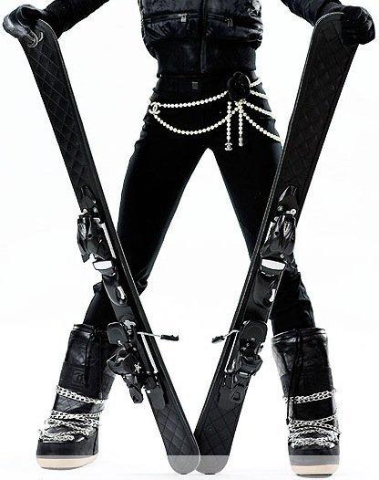 Chanel presenta su colección de esquí 2011/2012