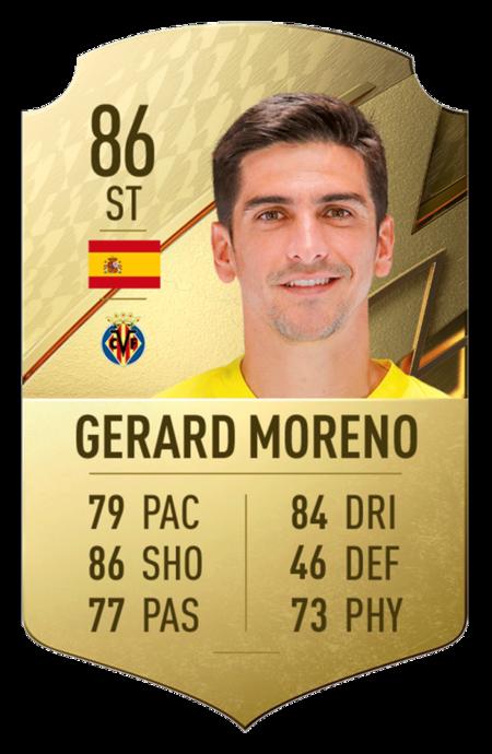 Moreno mejores jugadores fifa 22 laliga