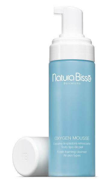 Oxigen Muse de Natura Bissé: limpia, oxigena, refresca. La utilizo cada mañana