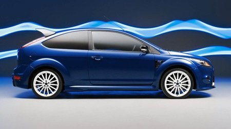 Llantas blancas estilo WRC para el final de la producción del Ford Focus RS