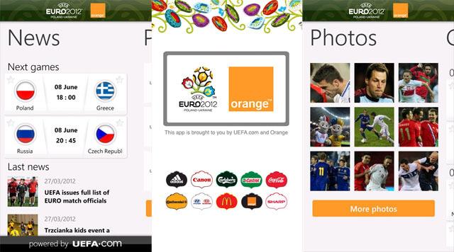 Uefa Orange 2012