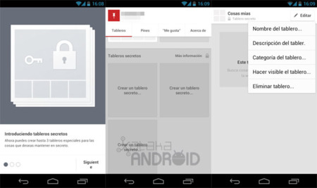 Pinterest 1.1 para Android