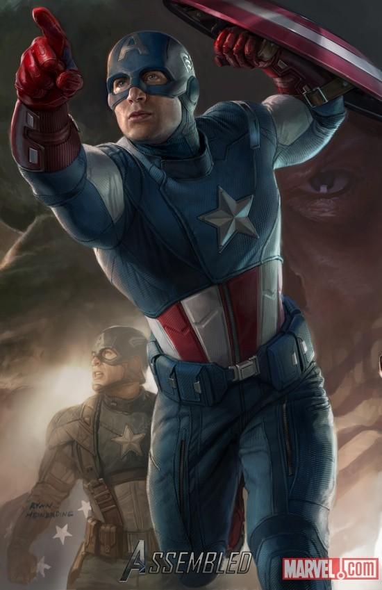 Foto de 'Los Vengadores' ('The Avengers'), teaser póster y dibujos oficiales de los protagonistas (8/9)