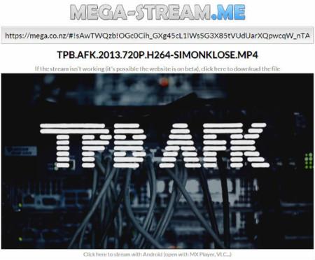 Mega Streamme