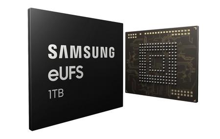 El nuevo chip de Samsung llevará 1 TB de memoria a los smartphones, ¿a tiempo para la llegada del Galaxy S10?