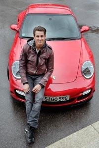 Adrian Sutil, encantado con el Porsche 911 Turbo