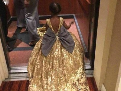 Blue Ivy, la hija de Beyoncé, también ha acudido a los premios Grammy 2017