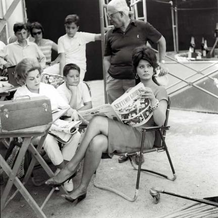 Sophia Loren. Septiembre, 1961 © Marcello Geppetti Media Company