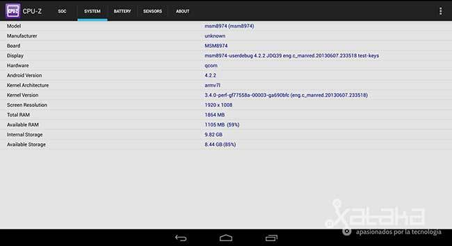 Qualcomm Snapdragon 800 a examen
