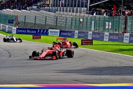 Leclerc Vettel Spa F1 2019