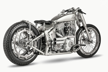 Harley Davidson Softail Iron Riot, la panacea del diseño industrial de One Way Machine