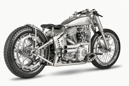 Harley Davidson Softail Iron Riot, la panacea del diseño industrial de One Way Machine