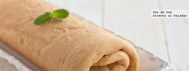 Cómo hacer una plancha de bizcocho para enrollar, receta básica de pastelería
