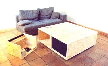 4+4, una mesa de centro muy versátil