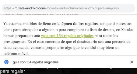 Chrome para Android, pronto con una vista previa para ver a dónde llevan los enlaces