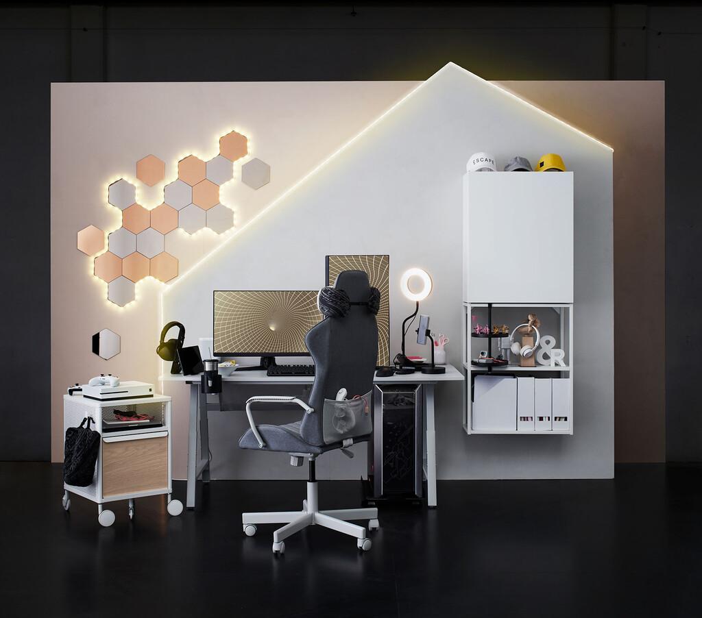La colección gaming de IKEA y ASUS ROG llega a España: precios y disponibilidad de los UPPSPEL y el resto de productos para gamers