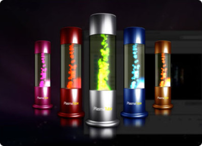 PlasmaTube Screen Saver: Más lámparas de lava para tu Mac
