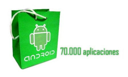 Android Market tiene 70.000 aplicaciones, según Google