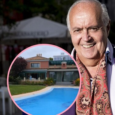 Así es la impresionante casa de José Luis Moreno en Boadilla: 5.000 metros cuadrados, gimnasio y varias piscinas
