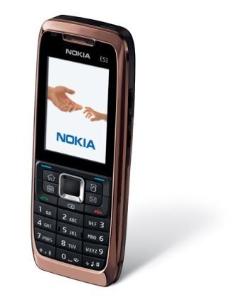 Nuevo Eseries: Nokia E51