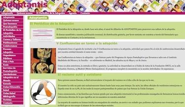 Adoptantis, sitio web sobre adopción