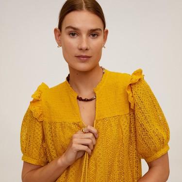Los 15 vestidos de Mango que no te vas a quitar en todo el verano