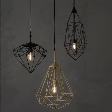 La impresionante serie de lámparas Diamonds, un lujo sin excesos