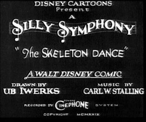 Las Silly Symphonies (III): El arte de 'The Skeleton Dance' en 1929