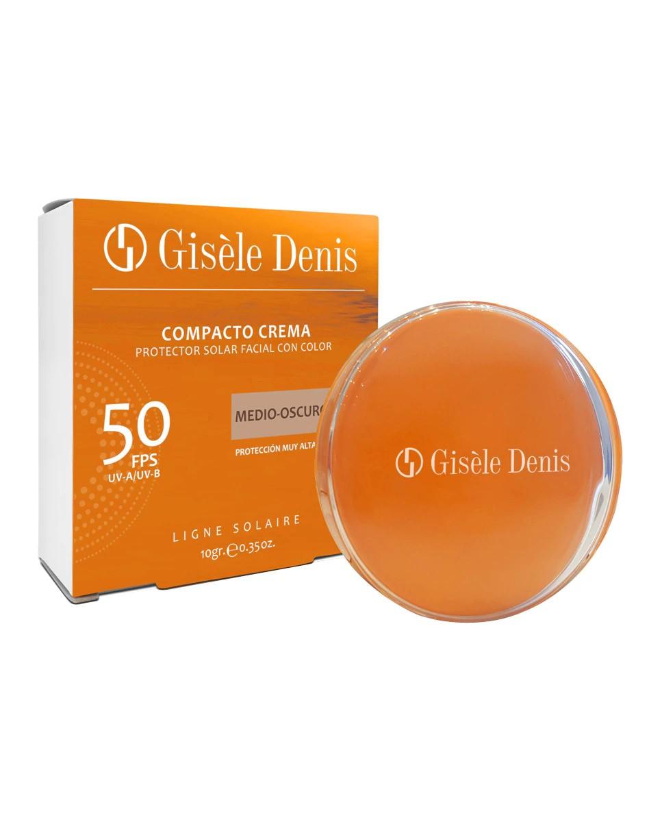 Maquillaje compacto en crema SPF50 de  Giséle Denis