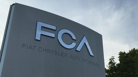 Fiat Chrysler Automobiles llama a revisión a 965,000 autos en Estados Unidos y Canadá