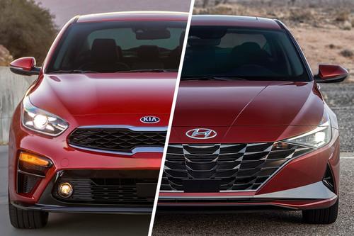 Hyundai Elantra vs. KIA Forte: similitudes y diferencias entre hermanos de madre distinta