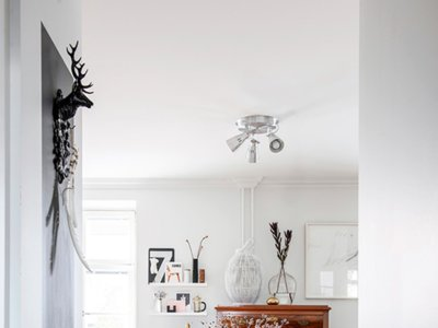 ¿Crees que tus muebles heredados no se pueden aprovechar? Mira este apartamento en Helsinki
