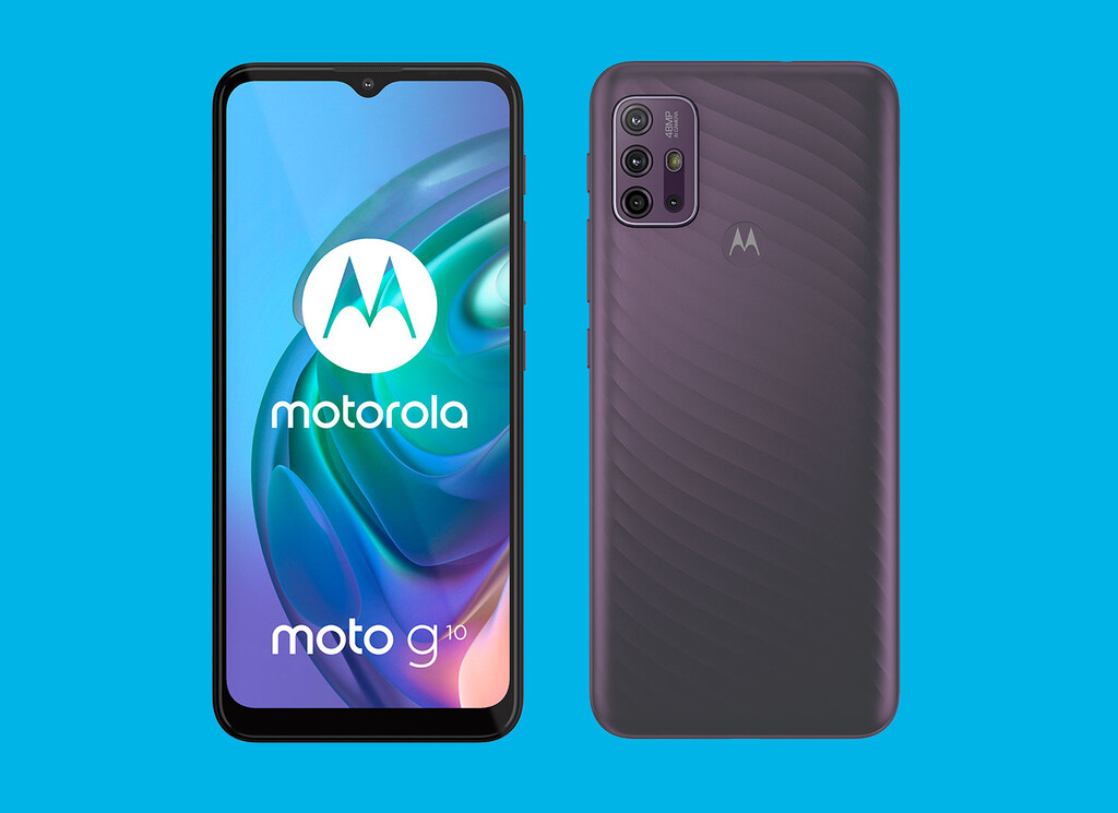 Nuevo Motorola™ Moto™ G10: 4 cámaras traseras y 5.000 mAh directo a la línea económica