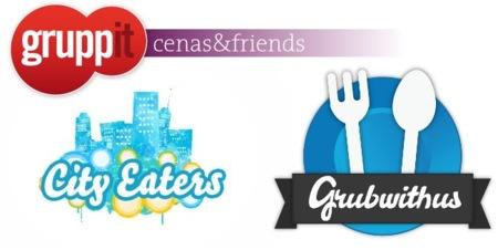 Tres servicios enfocados a desvirtualizar a los amigos y contactos con las cenas sociales