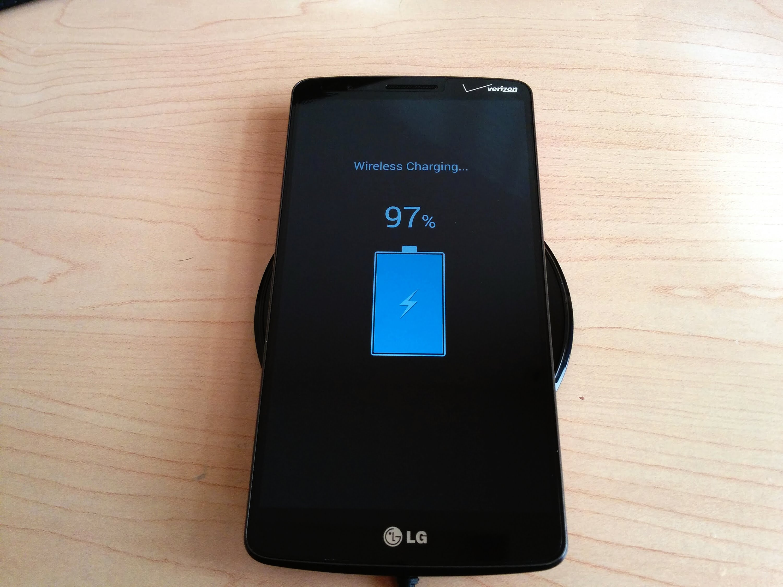 Carga inalámbrica LG