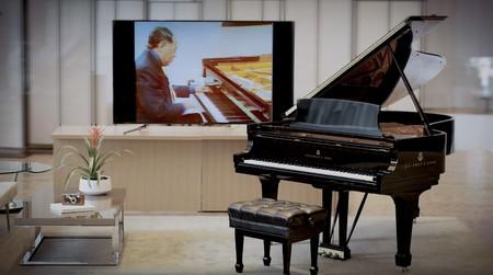 Este piano del legendario Steinway & Sons no necesita pianista: puede grabar, editar y repetir exactamente las notas tocadas