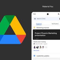 Así son los nuevos widgets de Google Drive con Material You