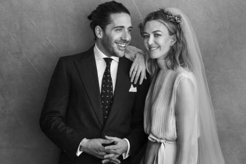 Por fin vemos el esperado look de novia de Marta Ortega