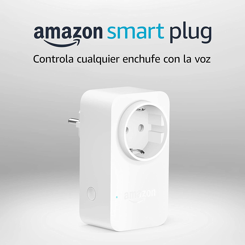 Amazon Smart Plug (enchufe inteligente wifi), compatible con Alexa, Dispositivo Certificado para personas