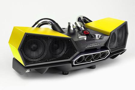 Estas bocinas Lamborghini EsaVox cuestan más que un SEAT León Cupra