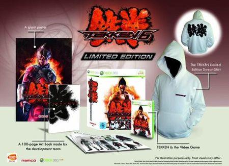 Tekken 6 - Edición de coleccionista con sudadera