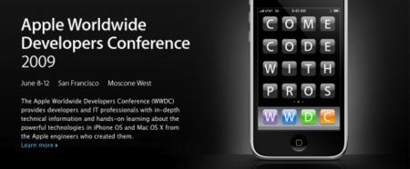 Apple confirma la keynote de la WWDC 2009