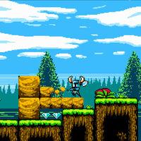 Shovel Knight, el genial plataformas en 2D, es en realidad un juego en 3D camuflado