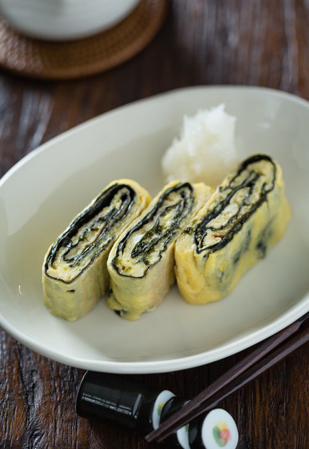 Tamagoyaki Just One Cookbook Red
