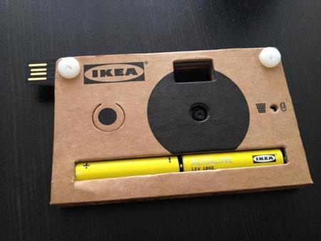 IKEA nos presenta una cámara digital pero de cartón